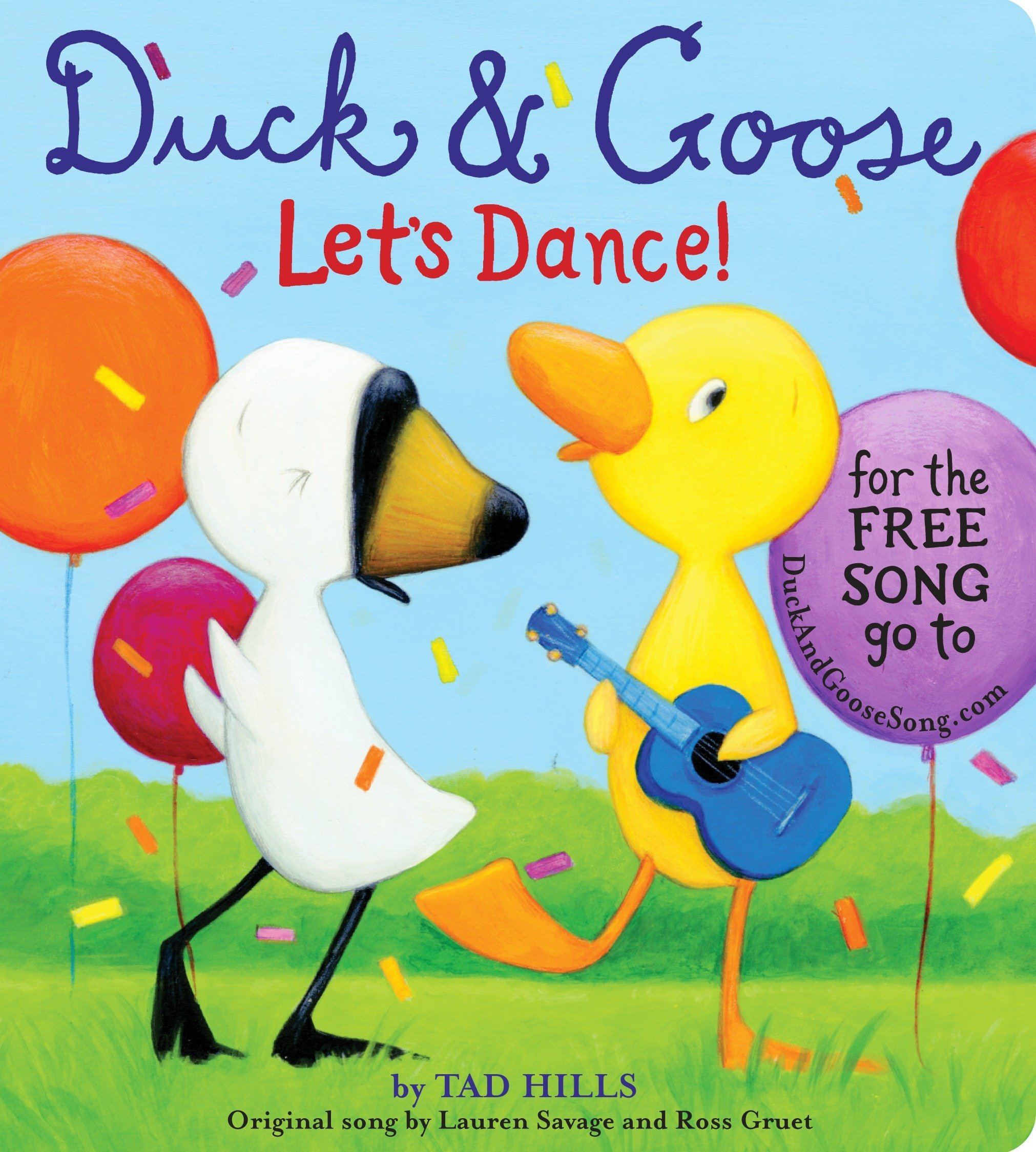 Download Duck & Goose, Let's Dance! (with an original song) pdf