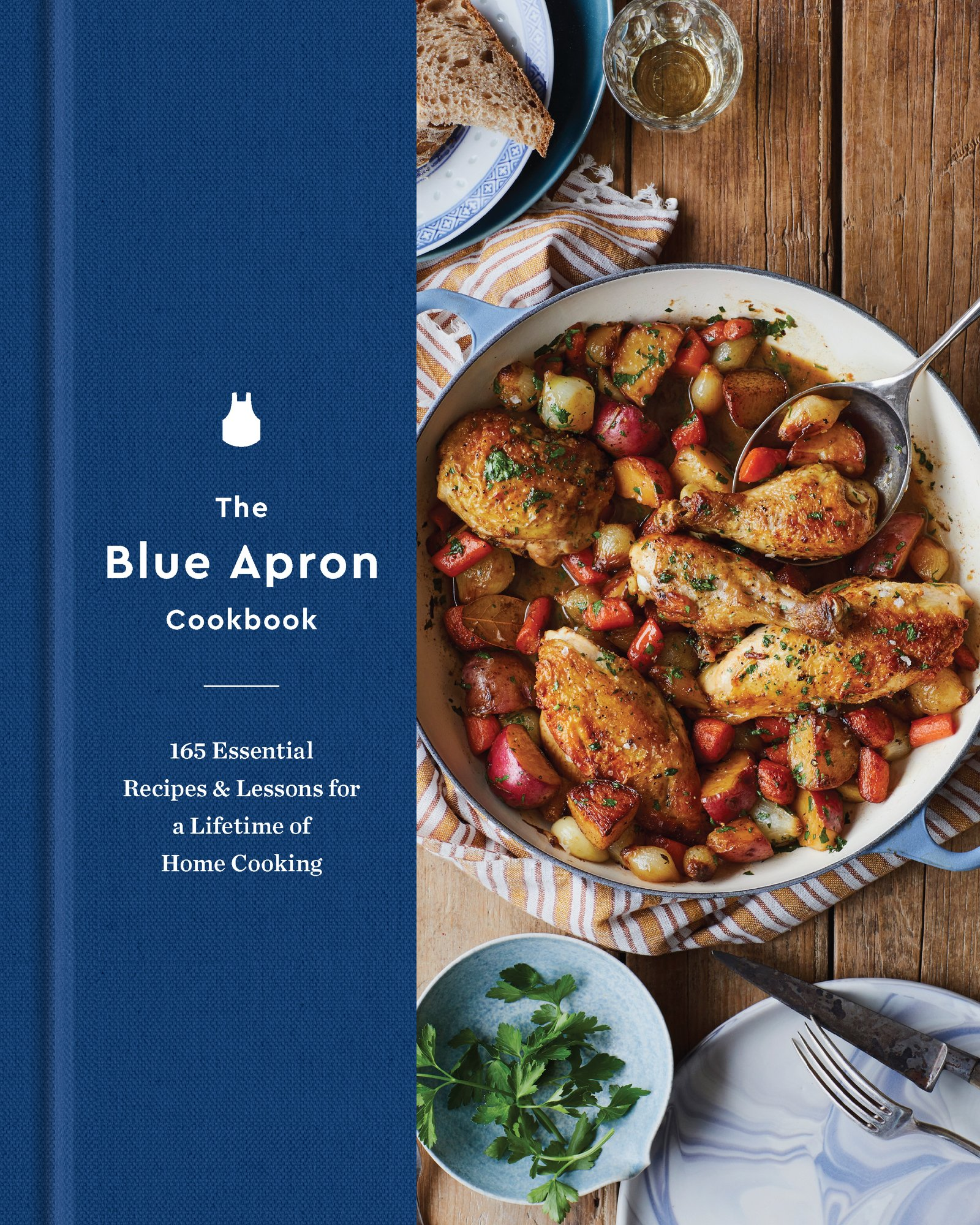 Blue apron cookbook - The Blue Apron Cookbook 165 Essential Recipes And Lessons For A Lifetime Of Home Cooking Blue Apron Culinary Team 9780062562760 Amazon Com Books