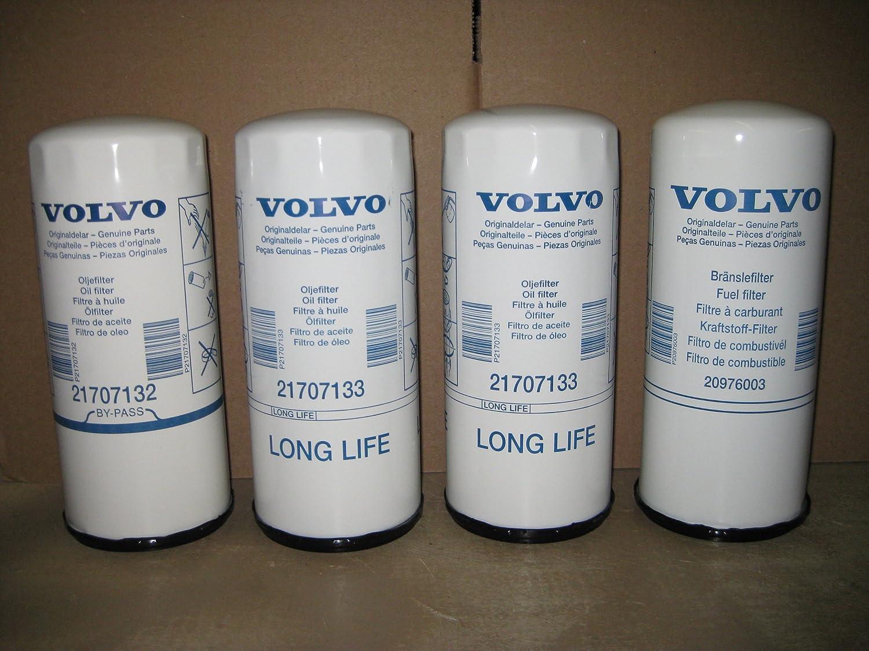 Amazon.com: Volvo Truck 85132685 Filter Kit for VE D12D: Automotive | Volvo Fuel Filters |  | Amazon.com