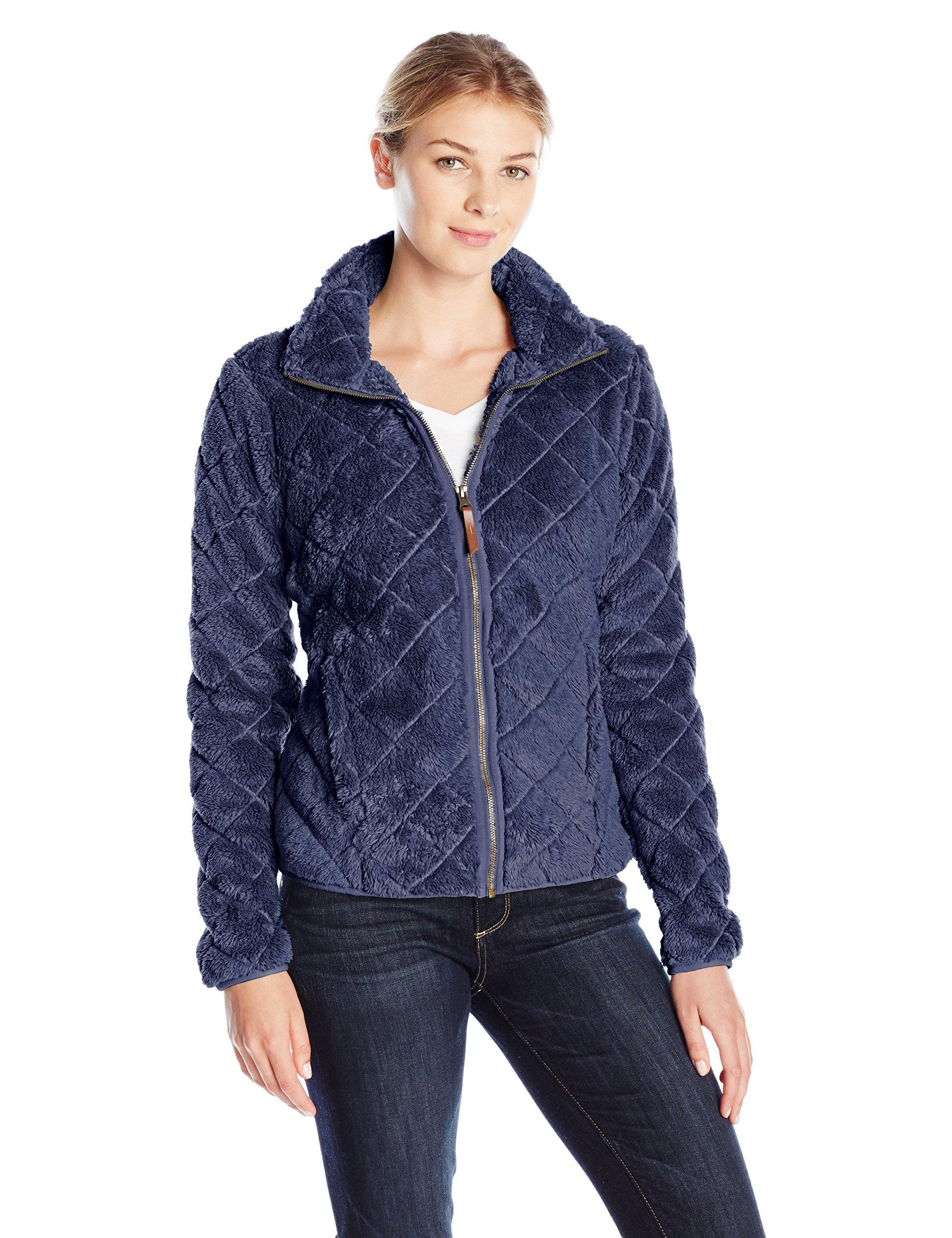 Columbia Women's Fire Side Sherpa Full Zip Jacket, Nocturnal, XS