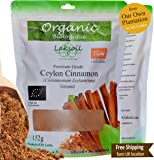 Certified Organic 152g/ 5.4oz Gourmet Pure Ceylon/True Cinnamon POWDER