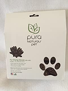 product image for Pura Naturals Pet Dog Fur Drying Gloves