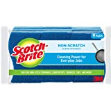 Scotch-Brite Non-Scratch Scrub Sponge, Cleaning Power for Everyday Jobs, 9 Scrub Sponges