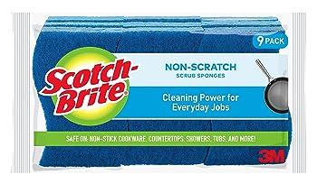 Scotch-Brite Non-Scratch Scrub Kitchen Sponge