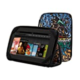 PUNCHCASE By Leslie Hsu Ace Zip Around Standing Case, Color Graffiti - Made for Kindle Fire (will not fit HD or HDX models)