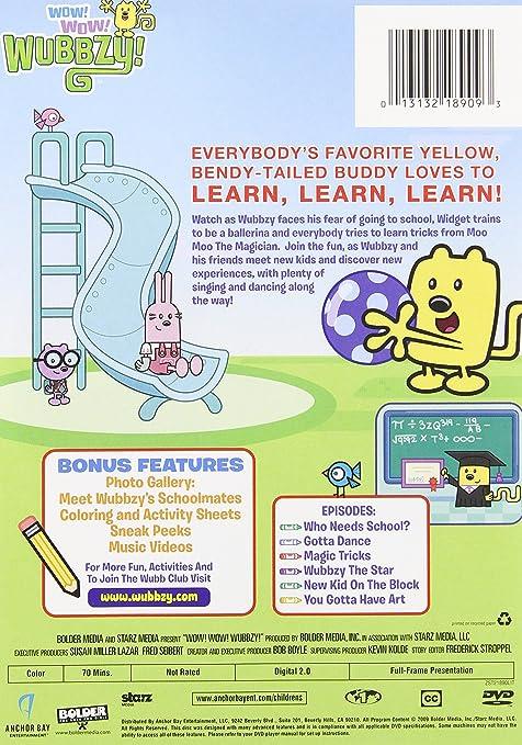 Amazon.com  Wubbzy  Wubbzy Goes To School  Movies   TV 3ab74eb6c