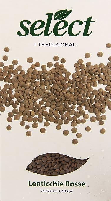 6 opinioni per Select- Lenticchie, Rosse- 400 grams
