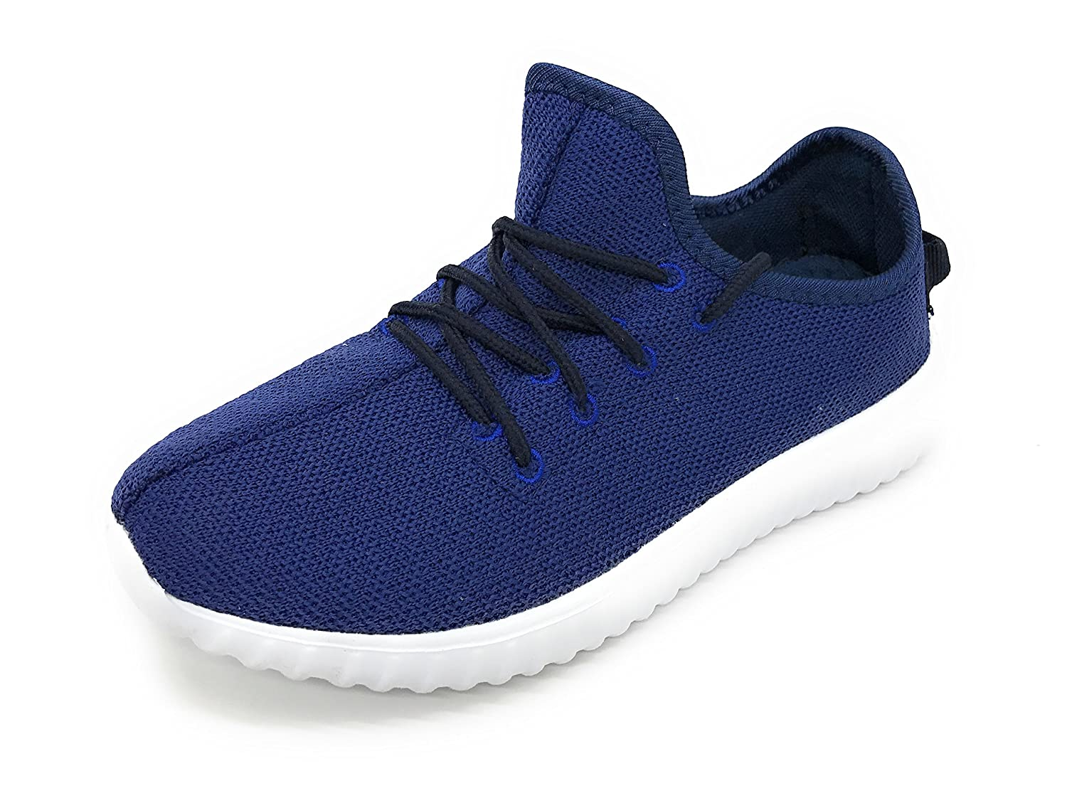 Blue Berry EASY21 Women Casual Fashion Sneakers Breathable Athletic Sports Light Weight Shoes B073DGZG5P 8 B(M) US|Navy