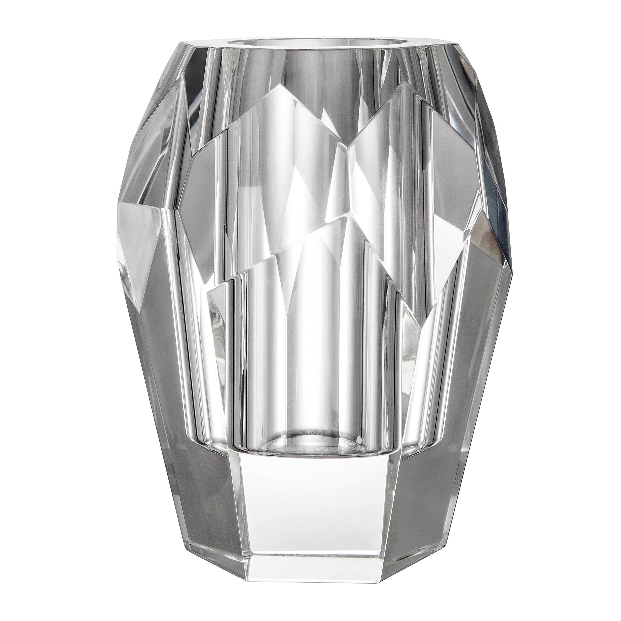 flower crystalware cm melodia rcr crystal vase