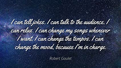 Amazoncom Robert Goulet Famous Quotes Laminated Poster Print