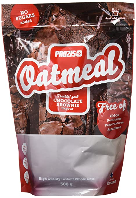 Prozis Oatmeal, Chocolate Brownie - 500 gr