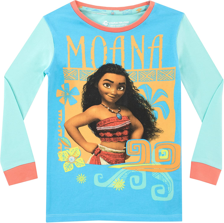 Disney Girls Moana Pajamas