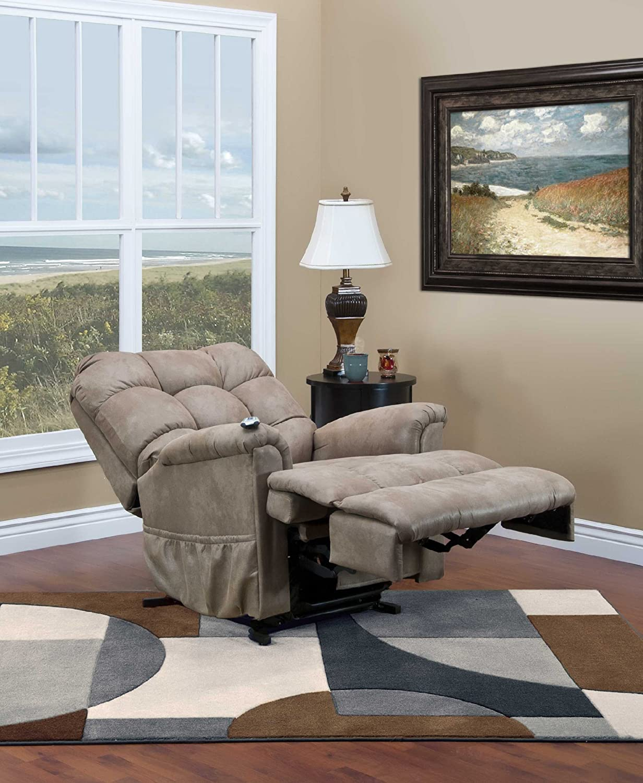 Lift chair table - Amazon Com Medlift 5555 Series Petite Sleeper Reclining Lift Chair 5555p Stm Kitchen Dining