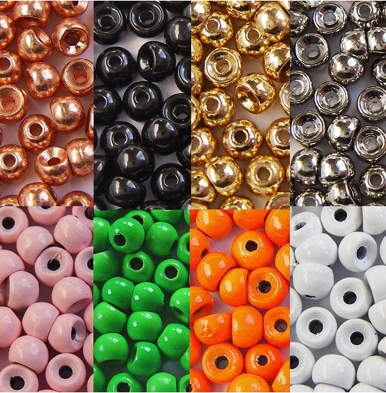 Choice of Colours Fly Tying Bead Heads Tungsten