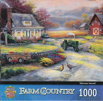 Farm Country 1000 Piece Puzzle
