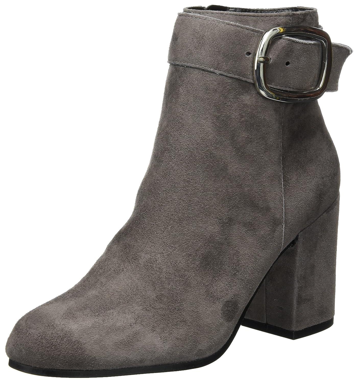 Buffalo London 416-8915 Suede, Botas para Mujer40 EU|Gris (Grey 01)