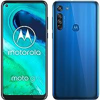 "Motorola Moto G8 - Smartphone de 6,4"" HD+ o-notch, 4G, Qualcomm Snapdragon SD665, Sistema de cámara triple, 64 GB, 4 GB…"