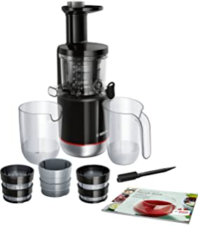 Bosch Slow Juicer MESM731M VitaExtract - Extractor de jugos, 150 W, 3 filtros,
