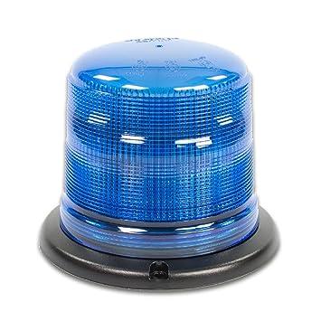 12V 24V Magnetfu/ß LED-MARTIN Rundumleuchte SESTO 11 Blitzmuster Professionelle Kennleuchte Warnleuchte Blitzleuchte f/ür den Einsatz im Stra/ßenverkehr. klar//gelb