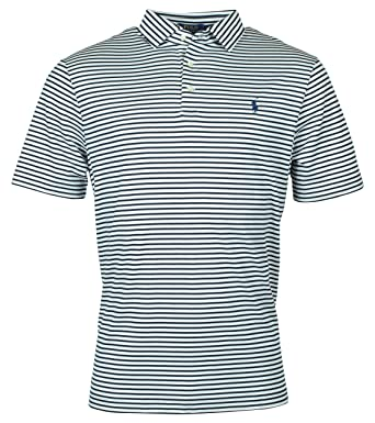 09ce5d20 Polo Ralph Lauren Men's Classic Fit Striped Soft Touch Polo Shirt