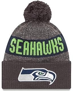 Amazon.com   NFL Seattle Seahawks  47 Baraka Cuff Knit Hat with Pom ... db6a84e558fb