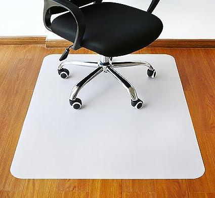 """polytene alfombrilla de silla de oficina, 47 """"x35,"""" duro protección"""