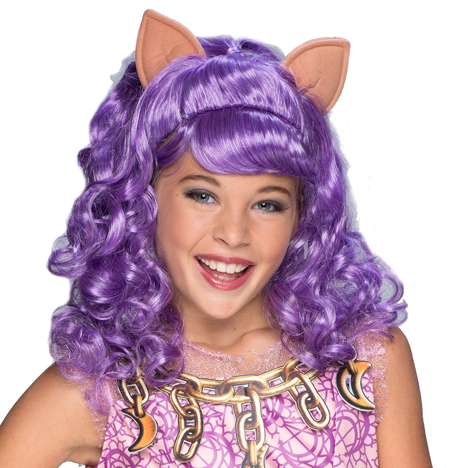 Rubies Costume Haunted Clawdeen Wolf Child Wig