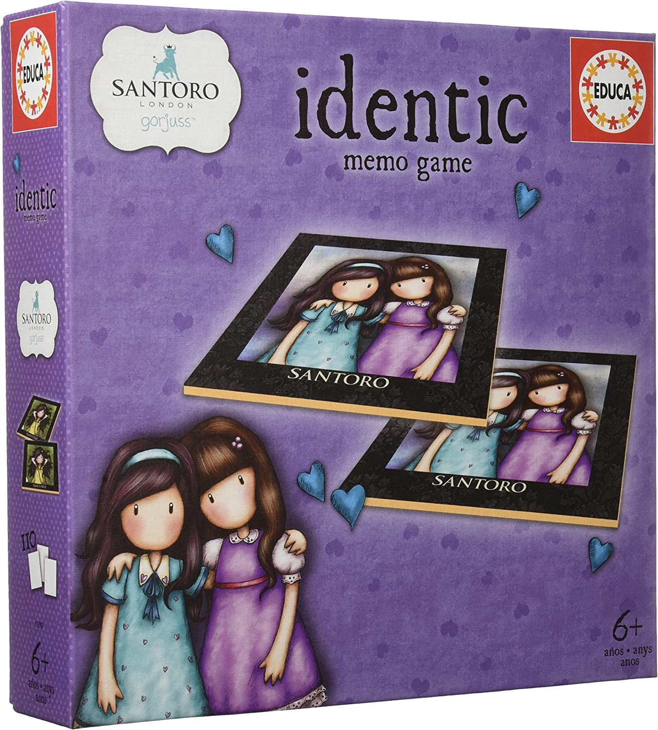 Educa Borrás Identic Gorjuss, Juego Educativo de Memoria para ...