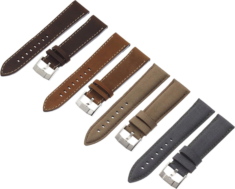 Alpina AL-STRAPSET-4S 22mm Strap Sets Genuine Leather Multi-Color Watch Strap