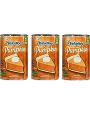 (Pack of 3) Bakeroo Tinned Pumpkin Puree (Pumpkin Pie Filling - Pastel de