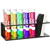 Amazon.com : Clear Acrylic Wall Mountable 6 Slot Dry Erase