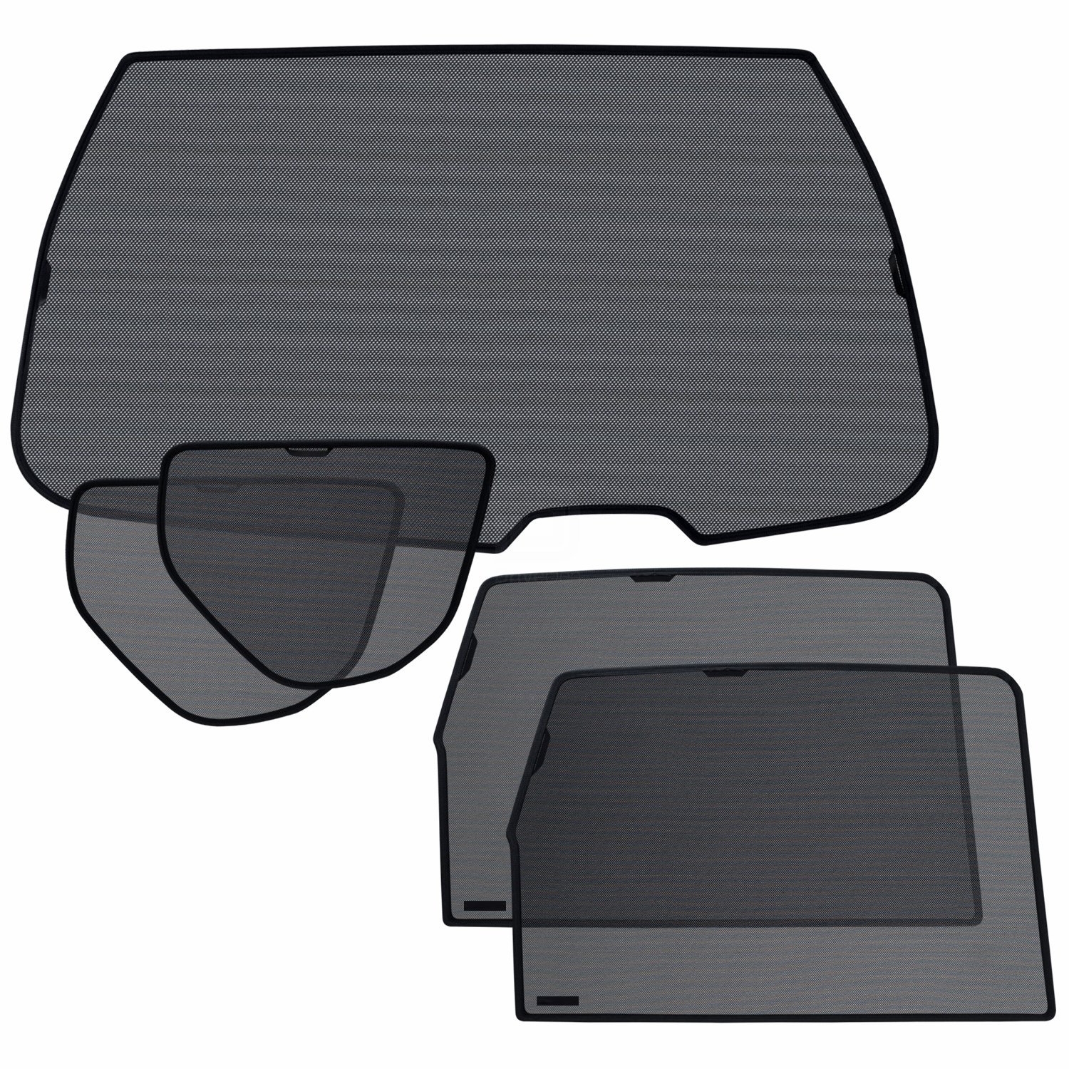 Laitovo Np-V-552 Classic Tailored Privacy Rear Window Sunshade Set