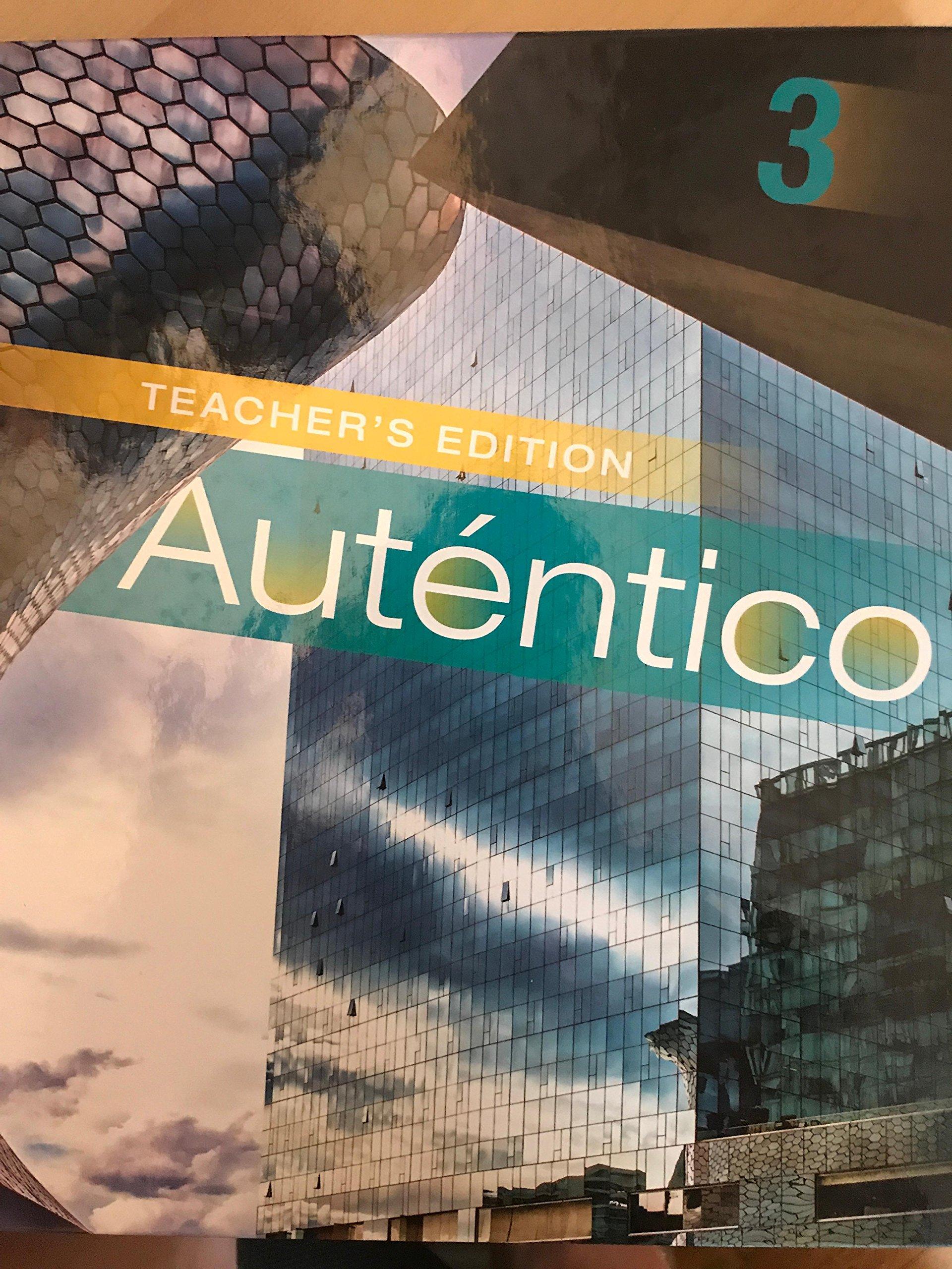 Read Online Autentico 3 Teachers Edition ebook