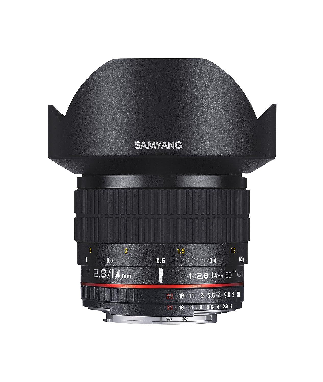 Samyang AE mm IF ED UMC Objectivo para Canon color negro