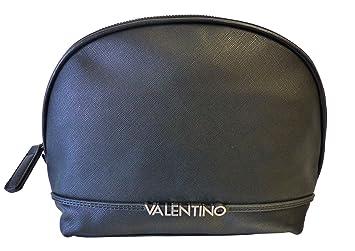 baa2926c7abad Valentino Sea VBE2JG533 Nero Damen Kosmetiktasche Kulturtasche Schwarz  (25x20x9cm)
