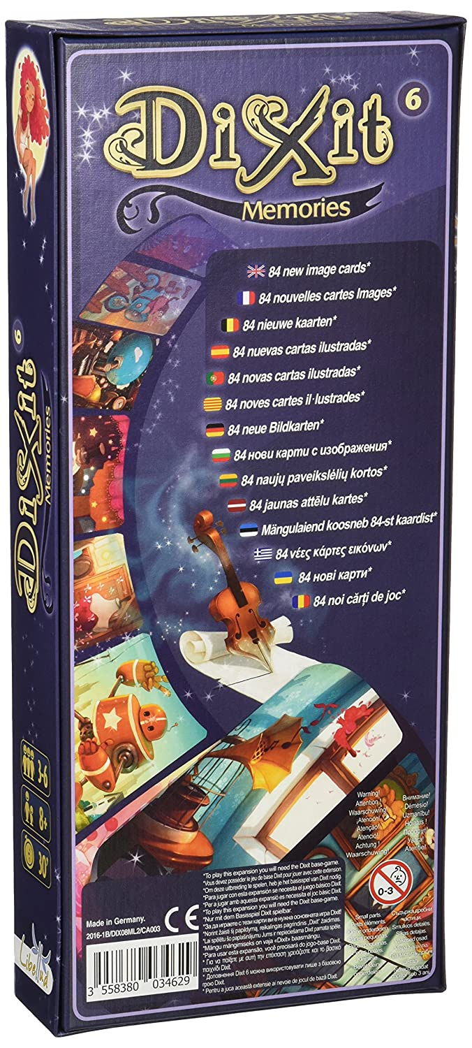 Amazon.com: Dixit – Memories (Libellud dix08ml): Toys & Games