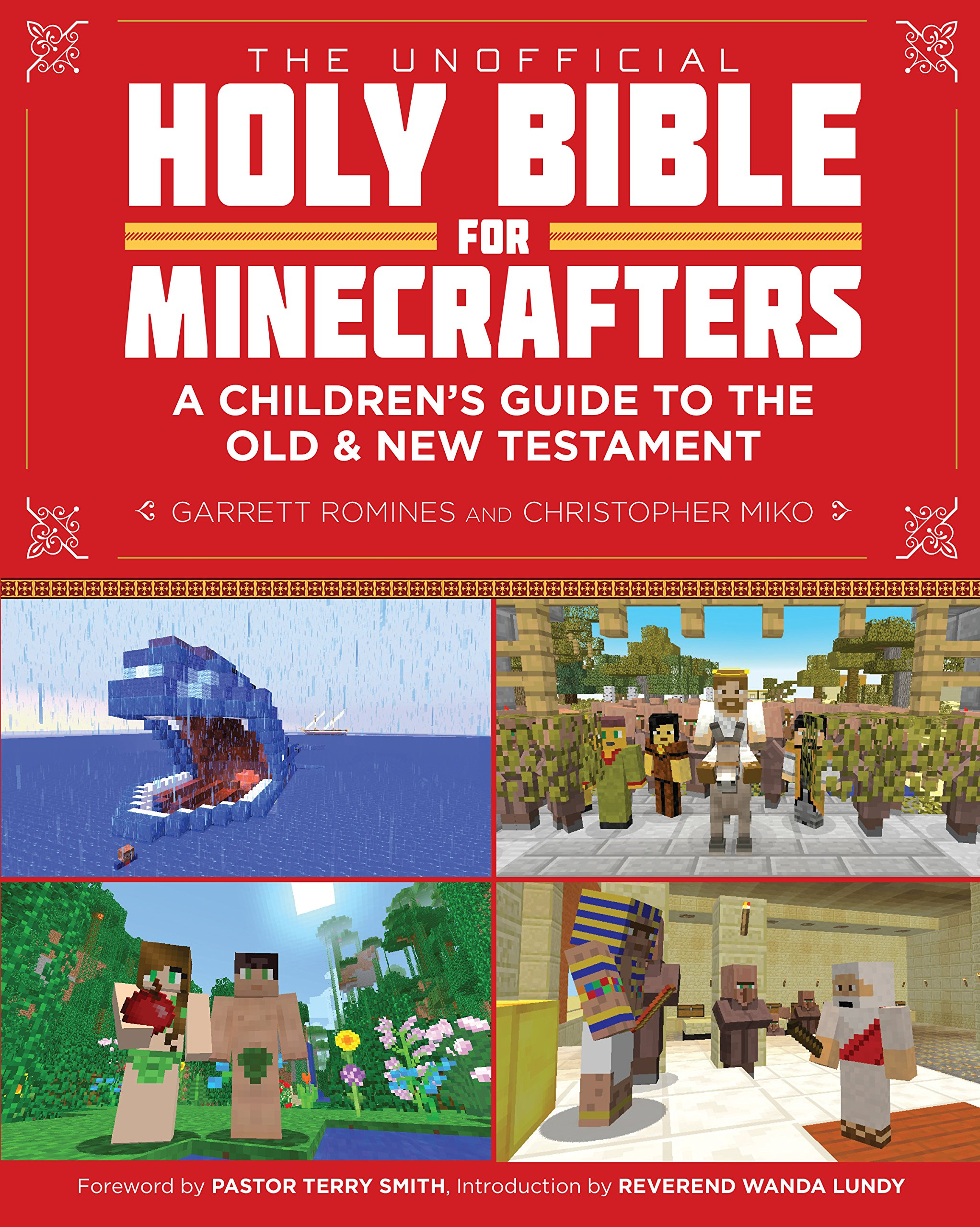 the unofficial holy bible for minecrafters a children u0027s guide to