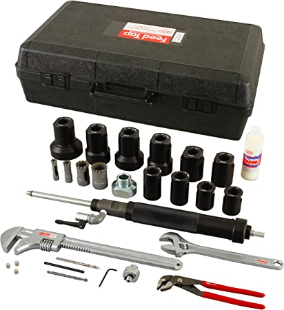 Reed Tool FT2000UNIV Complete Feed Tap Kit 3//4 to 2-Inch