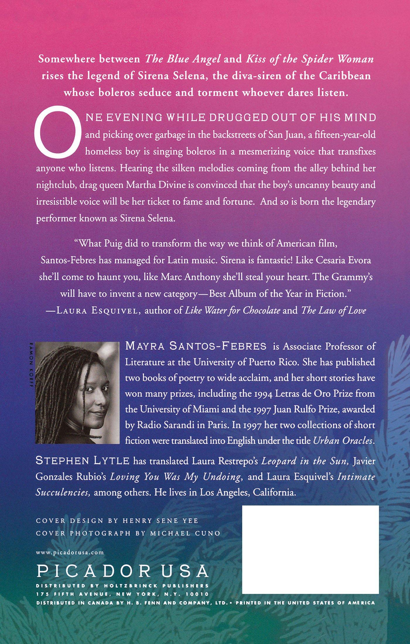 Amazon.com: Sirena Selena: A Novel (9780312263928): Mayra Santos ...