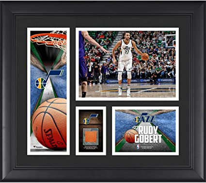 5c4120da139 Image Unavailable. Image not available for. Color  Rudy Gobert Utah Jazz ...