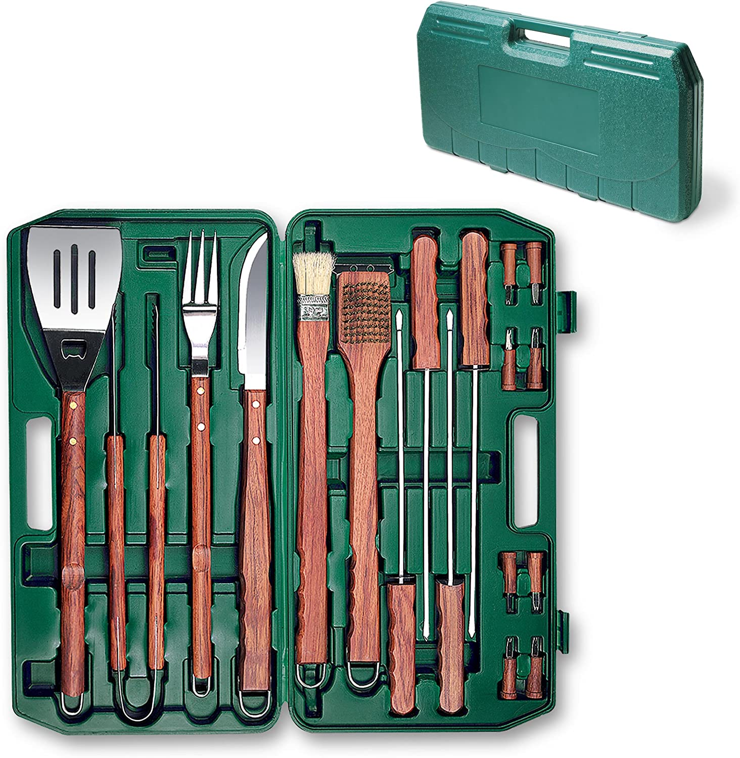 ONIVA – a Picnic Time Brand 18-Piece Deluxe BBQ Tool Set in Carry Case