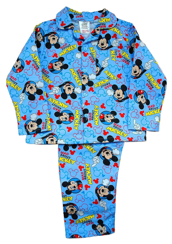 Cute Disney Mickey Mouse Boys Buttoned Pyjamas FO-8GI0-31UW