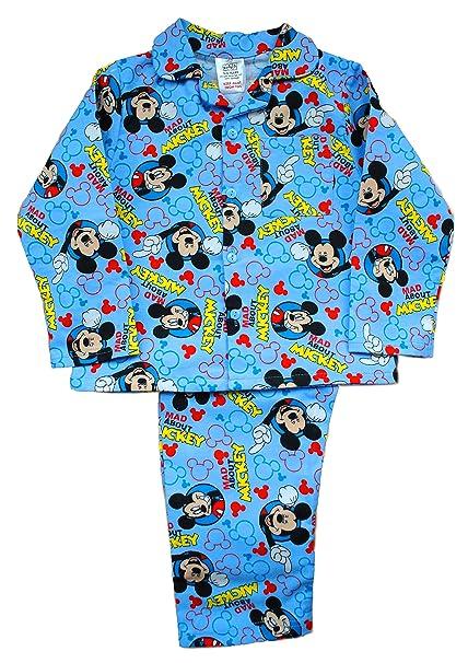 Carcasa de Mickey Mouse Botones Pijama Infantil de Neopreno para niños: Amazon.es: Ropa y accesorios