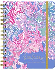 "$30 » Lilly Pulitzer Large Aug. 2019 - Dec. 2020 17 Month Hardcover Agenda, 8.88"" x 6.75"" Personal Planner with Monthly and Weekly Spreads, Viva La Lilly"
