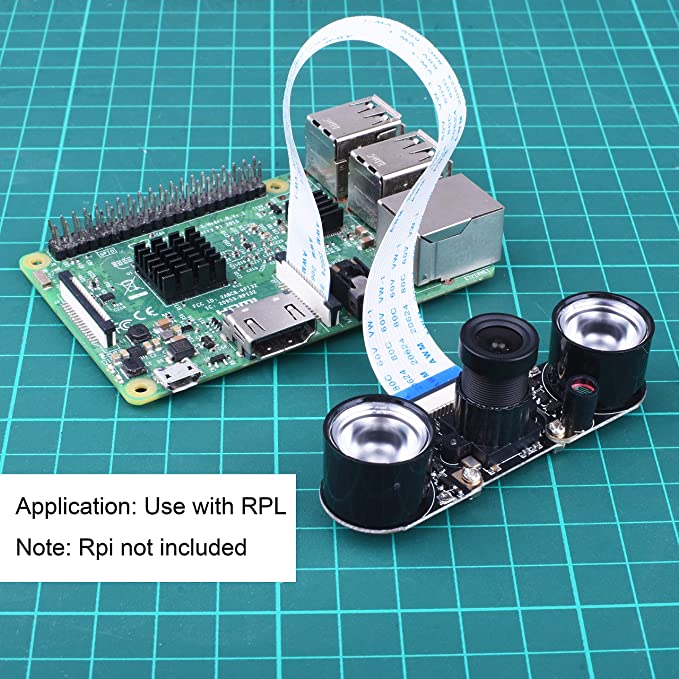 GAOPAN for Raspberry Pi Camera Module 1080p HD 5MP Webcam Automatic Switching Day//Night for Raspberry Pi 3//2//1 Model B//B+//A+// Zero W