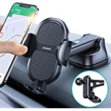 [Strong Steady] Phone Holder for Car [Multi Use] 4 in 1 Phone Holder for Car Dash Air Vent Windshield fit with iPhone 12 Pro