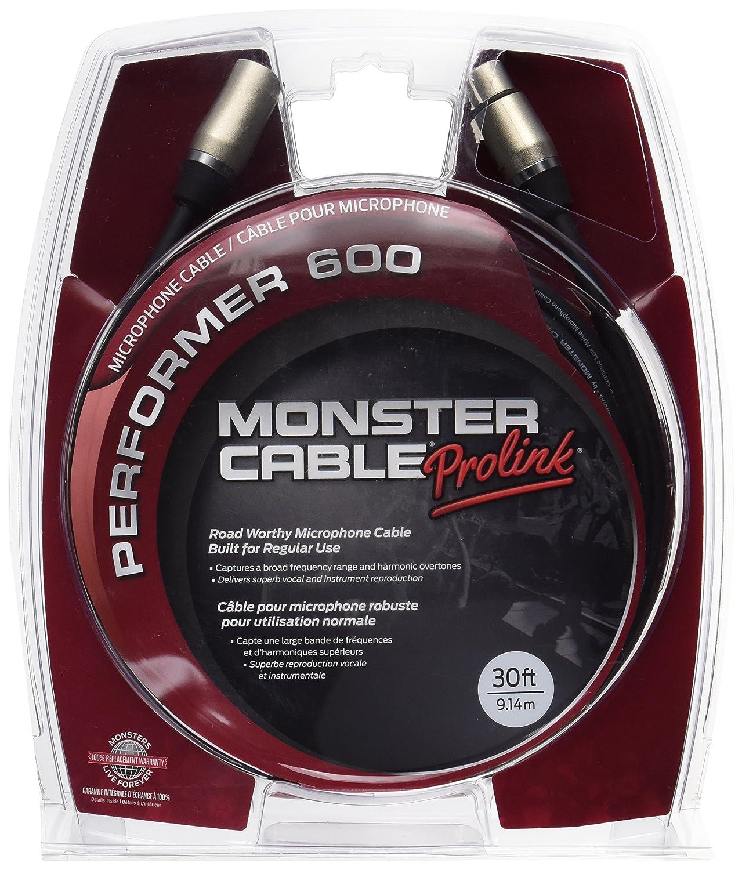 Monster Cable P600-M-30 Performer600 Series マイクロフォンケーブル/ プラグ XLR(オス)- XLR(メス)/ケーブル長:約9m B00K8EA2DI