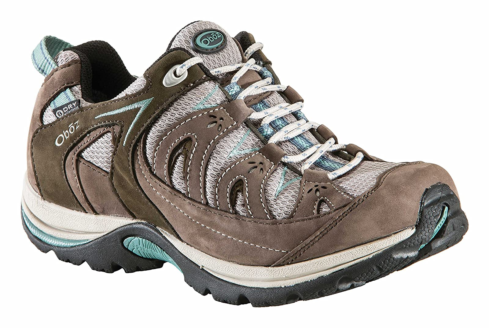 Oboz Women's Mystic Low Bdry Hiking Bluebell 6 M US - 1