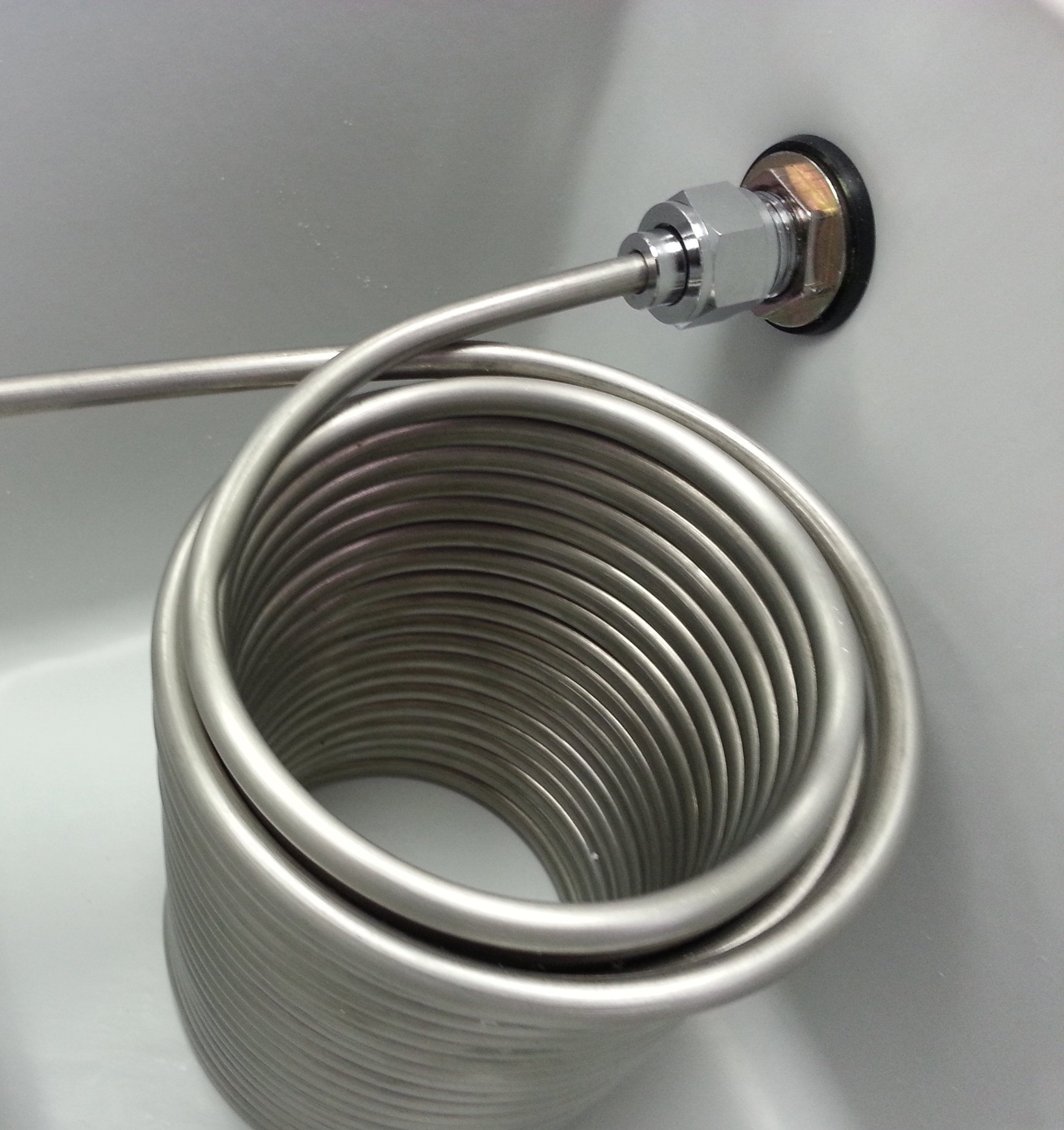 Bev Rite CJB48250 50' SS Coil Double Faucet Jockey box, 48 quart Cooler (2 Lines) Blue or Red
