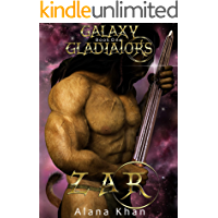Zar: Book One in the Galaxy Gladiators Alien Abduction Romance Series (English Edition)